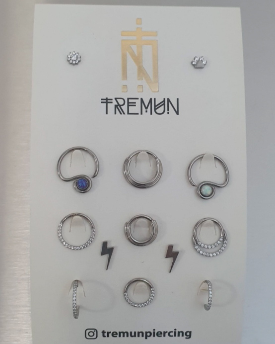 New Tremun jewelry!